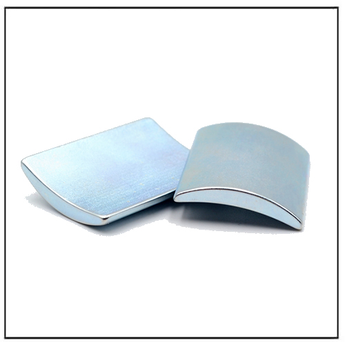 Zn Plated Neodymium Arc Segment Magnet 42UH