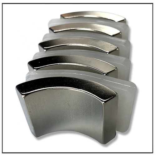 N55 Arc Magnets for BLDC Motor Rotor Project