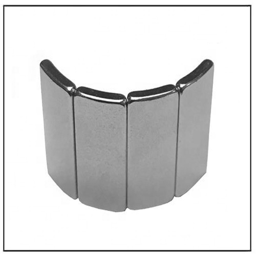 Nickel Plated High-performance N38H BLDC Rotor Project Magnets