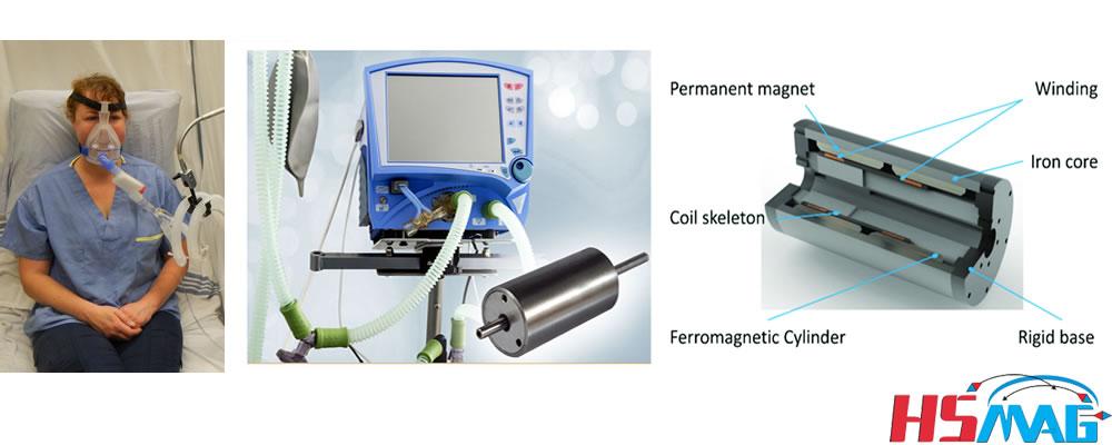 Ventilator Magnet in Voice Coil Motors (VCM)