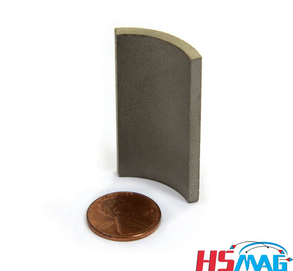 Anisotropic Rare Earth SmCo Arc Tile Magnet for Start PM Motors