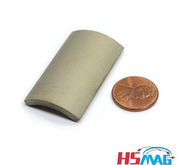 Custom Made BLDC Motor SmCo Segment Permanent Magnet,