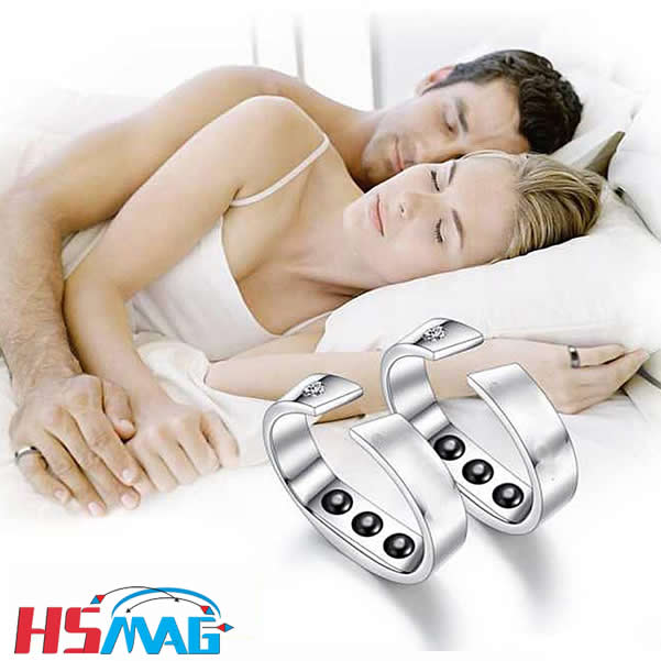 Magnetic Anti Snore Stop Snoring Rings