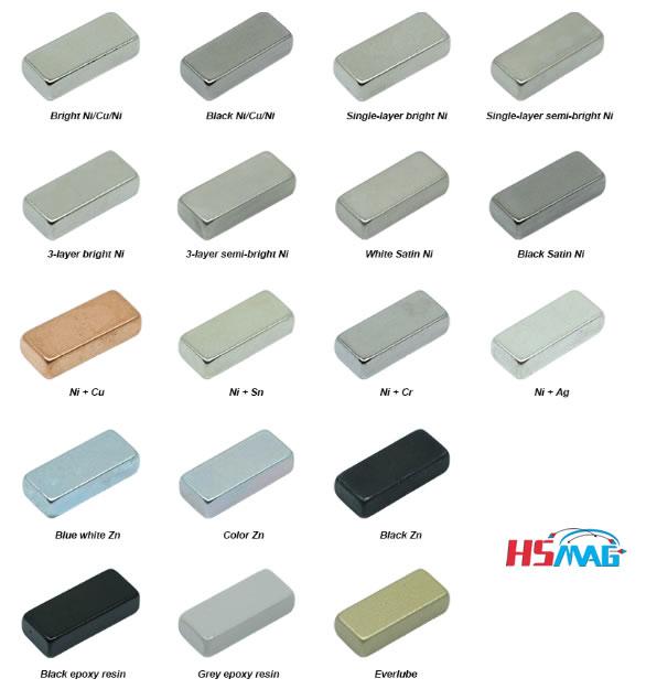 Neodymium Magnet Plating & Coating