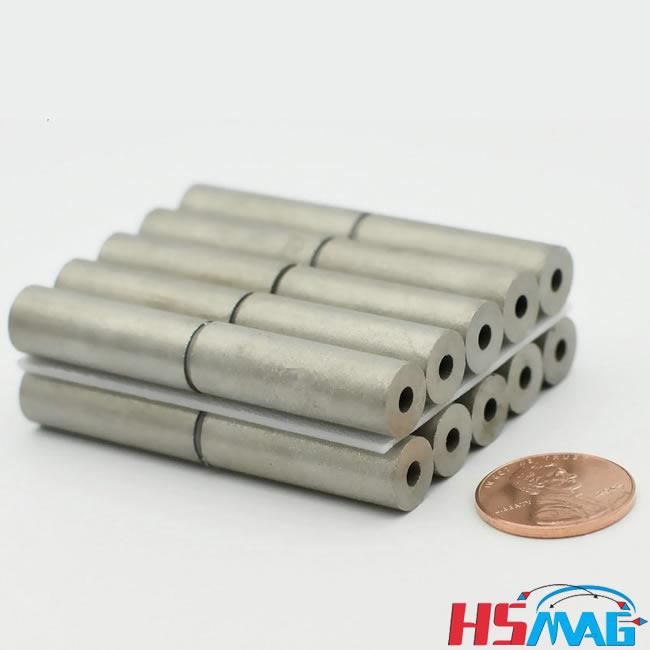 Sensor SmCo Samarium Cobalt Ring Tube Magnets