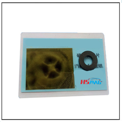 Planar Four Magnetization Ferrite Ring Multi-pole Magnets