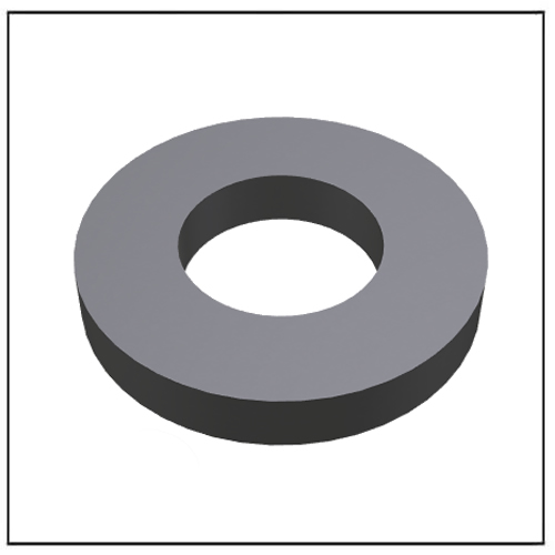 Multipolar Isotropic Ferrite Ring Permanent Magnet