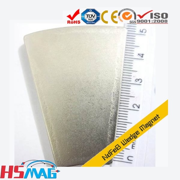 N35H Neodymium Wedge Wind Turbine Magnets