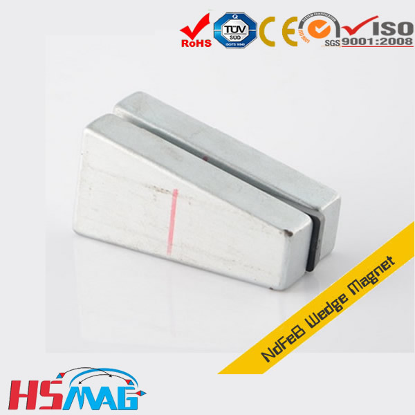 N48H-Neodymium-Wedge-Permanent-Magnet