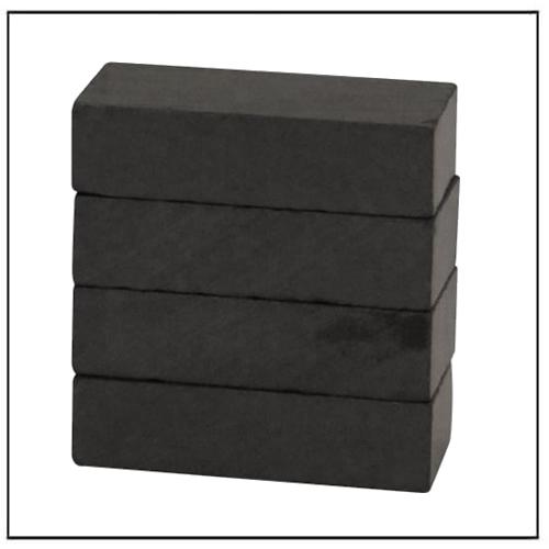 50 x 25 x 10 mm Y35 Block Ferrite Magnet