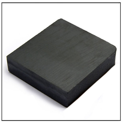 Anisotropic Ferrite Square Ceramic Block Magnet 60x60x15mm