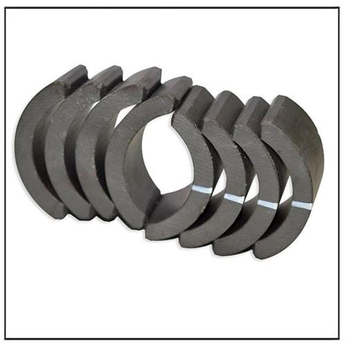 Low Price Arc Tile Isotropic Ferrite Generator Magnets