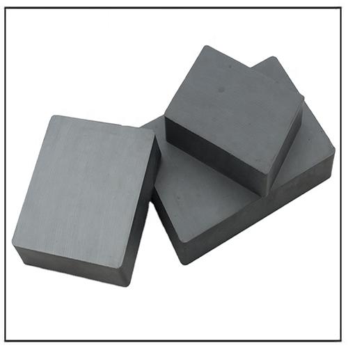 Low Price Free Sample Magnets Block Shape Ceramic C1