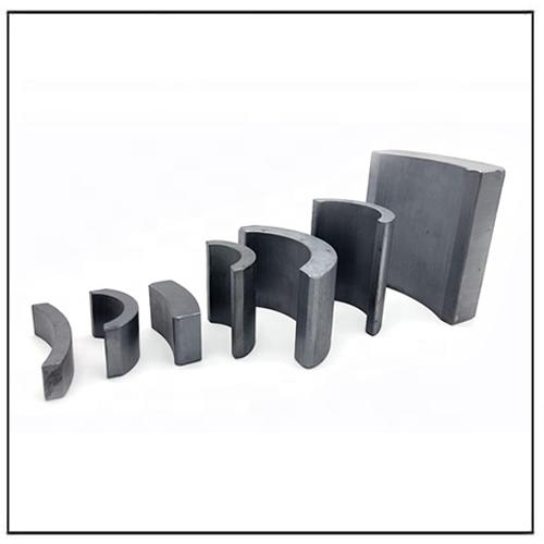 Low Speed Arc Ferrite Generator Permanent Magnets