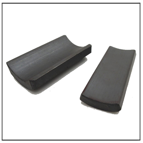 OEM American Standard Ferrite Magnets Arc Sector Shape for DC Motor