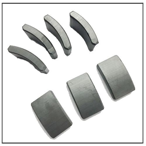 Stator Motor Anisotropic Hard Ferrite Semgnet Magnets Y32