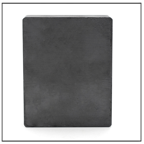 Thin Hard Brittle Block Ferrite Ceramic Magnet C5 100X50X10mm