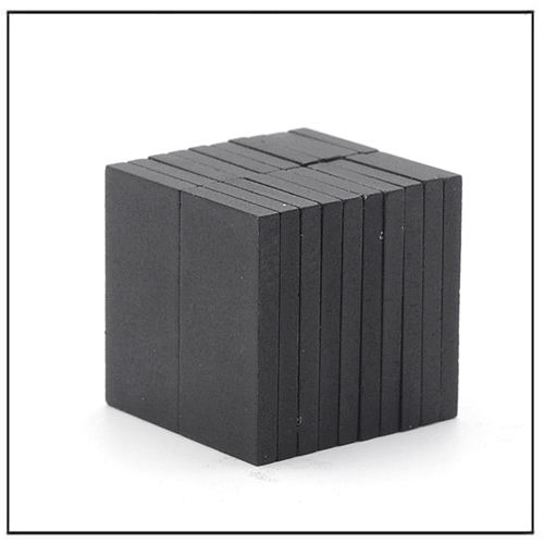 Thin Thickness Rectangular Hard Ferrite Magnets Y30BH