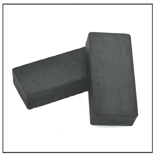 Y35 Block Ceramic Ferrite Magnets for Water Pumps