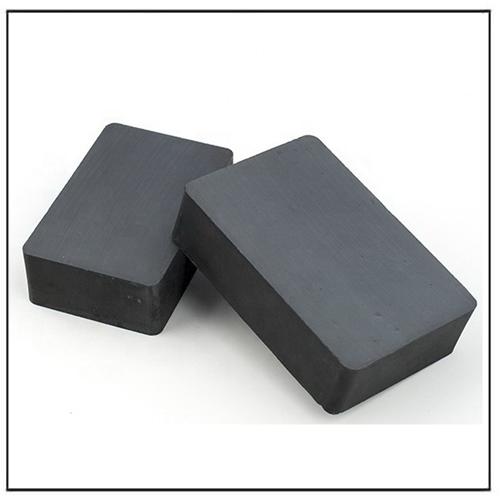 Y35 Y38 Y44 Y46 Customized High Grade Isotropic Ferrite Magnet Block