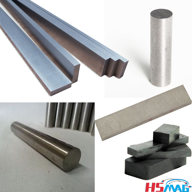 AlNiCo and ceramic magnetic bars