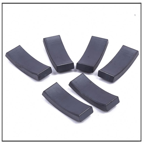 Ceramic Segment Japanese Standard Ferrite Magnet for Motors