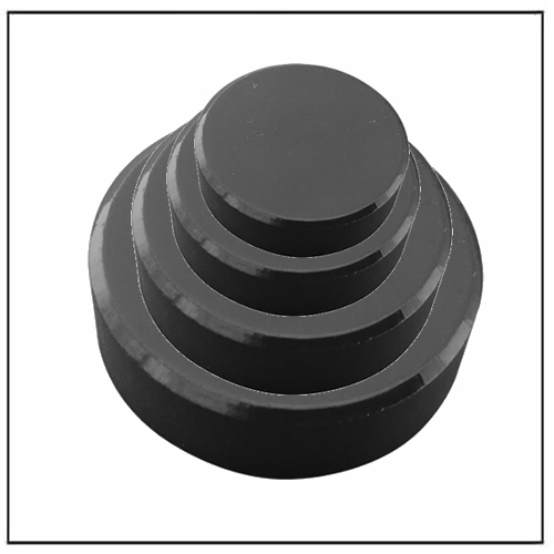 Circular Ceramic Ferrite Magnets by SrO, BaO, Fe2O3
