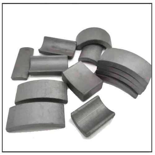 Customized Strong Arc Ferrite Magnet Material for Motor