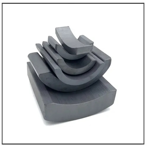 Electric Motors Arc Segment Hard Ferrite Anisotropic Magnet