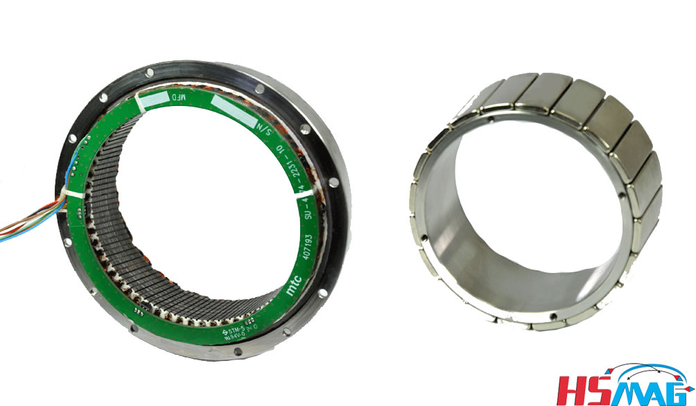 HSMAG offers Extruded Neodymium Magnets for Brushless DC Motors