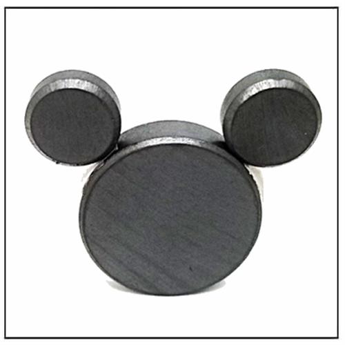 Industrial Anisotropic Flat Round Ferrite Magnet