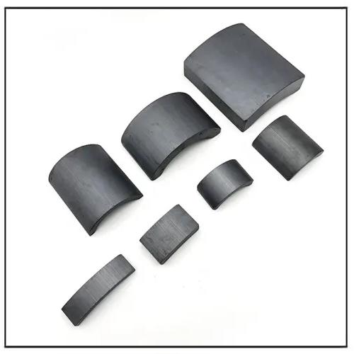 Motor Rotor Magnetic Tile Permanent Ferrite Magnet