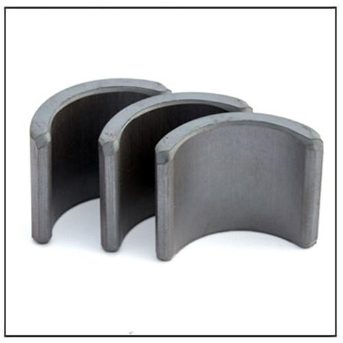 Segment Arc Permanent Isotropic Ceramic Magnets C10