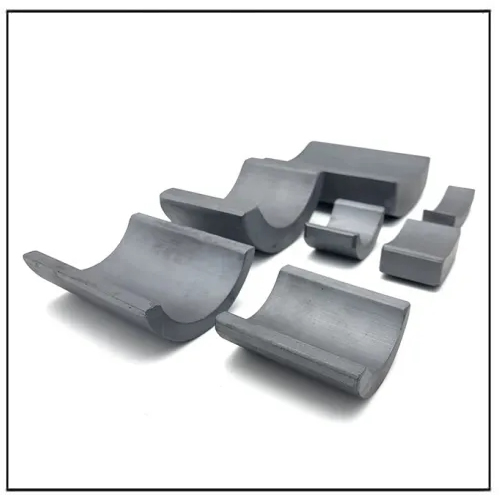 Segment Shape Ceramic Ferrite Magnet for Motor
