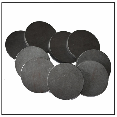 Thin Ceramic Ferrite Circle Magnets for Crafts Y30, Y30BH, Y35