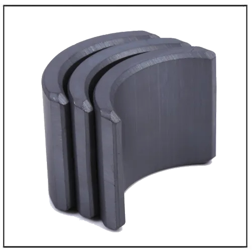 Y33H Anti-Corrosion Ferrite Arc Magnets for DC Brushless Motors