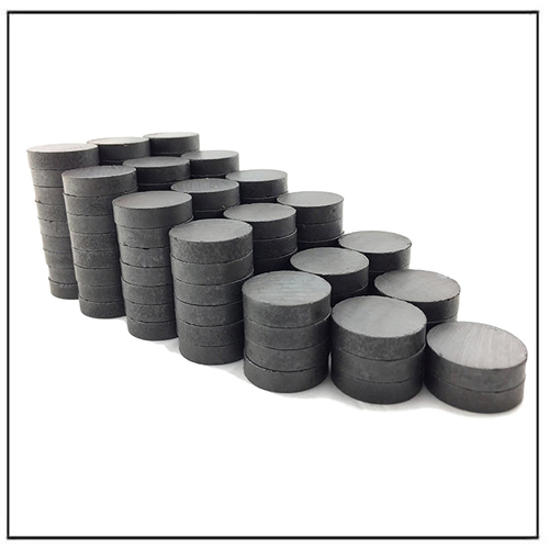 C10 Customer Diameter Permanent Circular Disc Ceramic Magnets