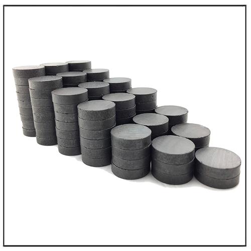 C10 Customer Diameter Permanent Circular Disc Ceramic Magnets