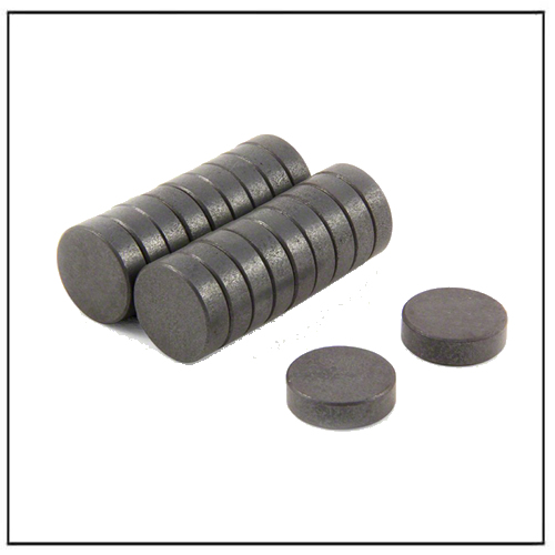 C5 Hard Ferrite Disc Circular Ceramic Magnets