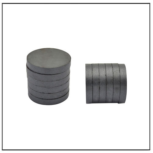 OEM Custom Diameter Ferrite Ceramic Disc Circle Magnets