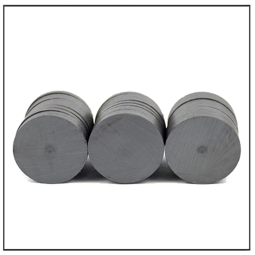 Round Disc Circular Disk Permanent C5 Ceramic Magnets