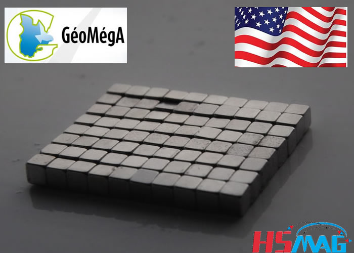 Geomega recycle USA Rare Earth's waste