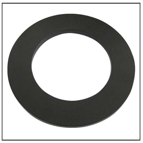 Black Epoxy Resin Coated Rare Earth Neodymium Large Ring Magnet