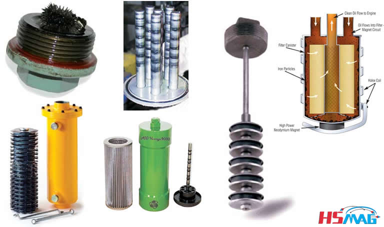 types of magnetic filters and separators