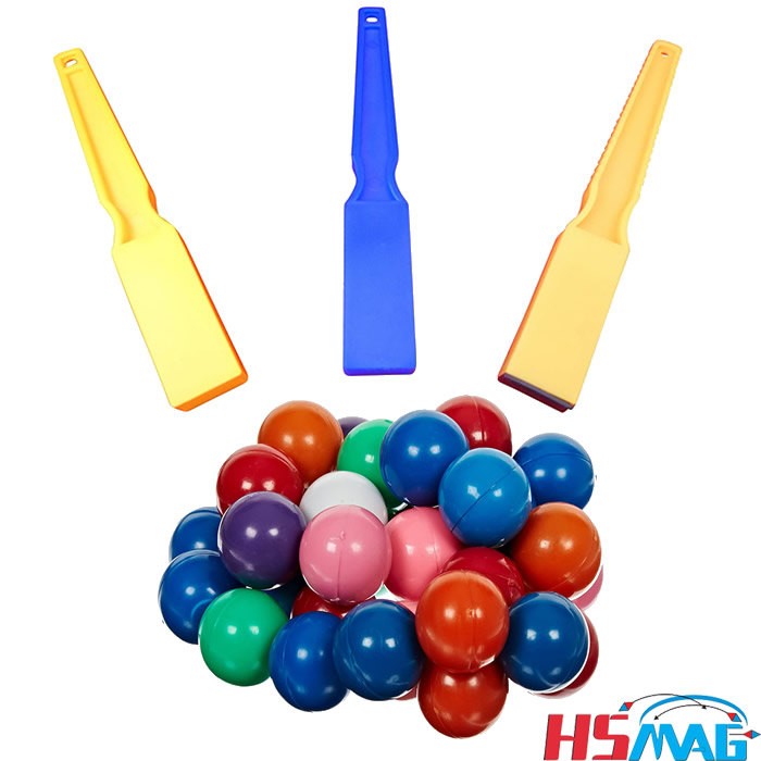 Ajax Scientific Magnetic Wand with Magnetic Marbles