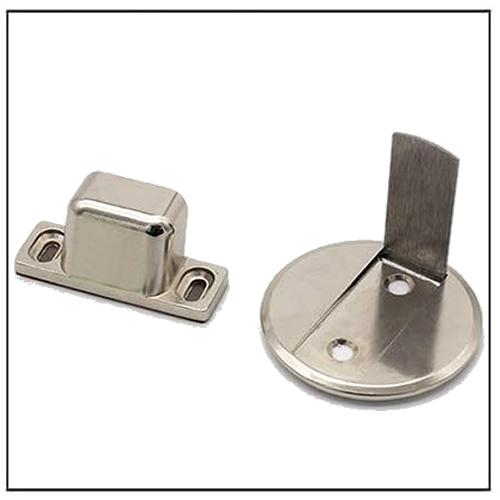 Stainless Steel Flush Magnetic Door Stops Door Catches Door Holder
