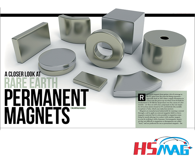A Closer Look at Rare Earth Permanent Magnets