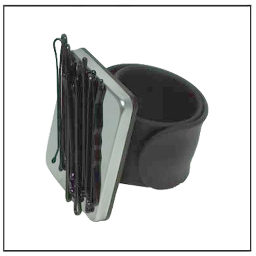 Black Magnetic Bobby Pin Bracelet Hair Pins Holder