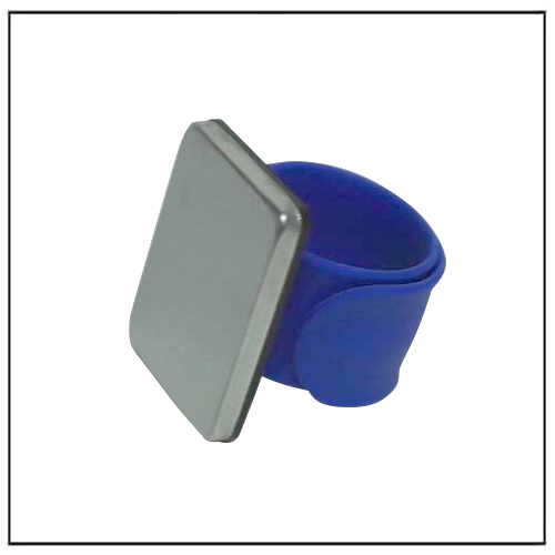 Blue Color Magnetic Pin Holder Wristband for Sewing