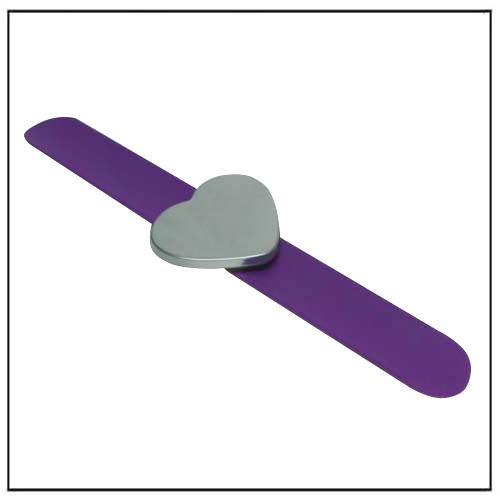Purple Waterproof Hair Styling Magnetic Holder Hairpin Bracelet